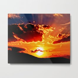 At the rising sun Metal Print