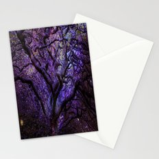 Mystic Tree of Knowledge Purple Stationery Cards