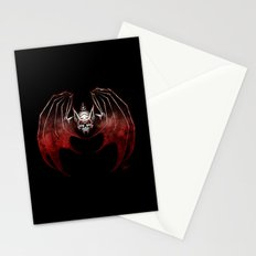 Thee Vampire Guild Bat Icon Stationery Cards