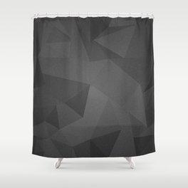 Black Kryptonite Shower Curtain