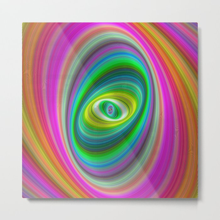 Elliptical magic Metal Print