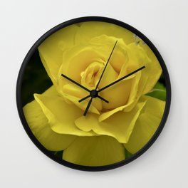 Rose at the water, can´t you see my tears? Wall Clock