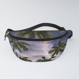 Palm Trees and Stars in Maui Fanny Pack