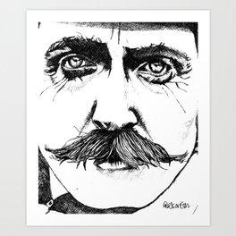 Steady The Buffs Art Print
