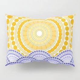LIGHT OF DAWN (abstract tropical) Pillow Sham