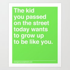 That Kid Art Print