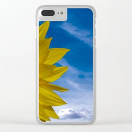 Concept Sunflower Greetingcards Clear iPhone Case