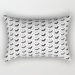 Halloween bats pattern Rectangular Pillow