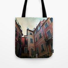 windows of Cinque Terre Tote Bag