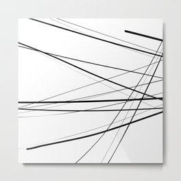 Urban Abstract III Metal Print