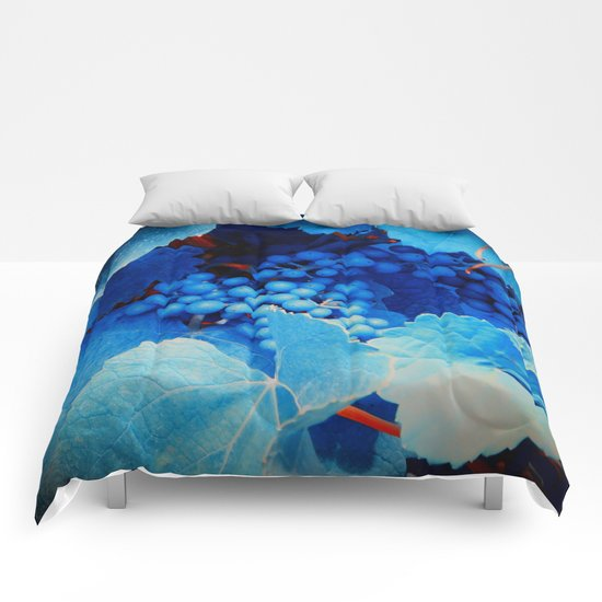 Grapes Comforters