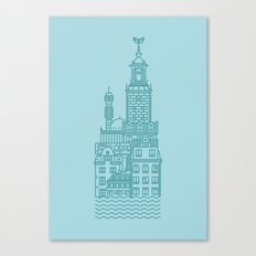 Stockholm (Cities series) Canvas Print