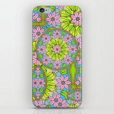 Color Me Spring Mandala iPhone & iPod Skin