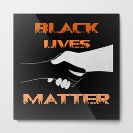 Together We Rise Shirt, Rise Up Shirt, Black Lives Matter Support Shirt, LGBTQ Support Shirt Metal Print
