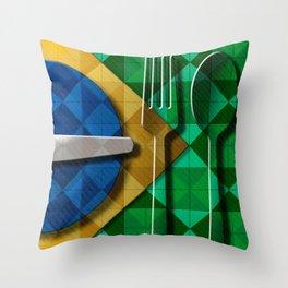 Copa & Cucina II Throw Pillow