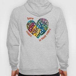 Love Comes In Many Colors Hoody