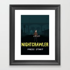 Nightcrawler - The Video Game Framed Art Print