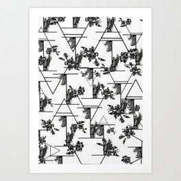 Typographic print Art Print