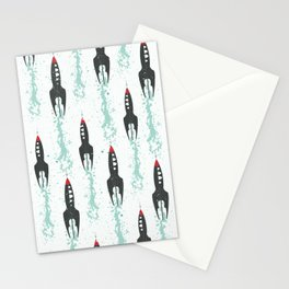 Voyage into the cosmos Stationery Cards