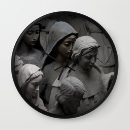 Lonely Saint Wall Clock