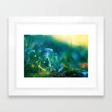 Emerging to Ocean Framed Art Print
