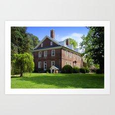 Harrison House No. 1 Art Print