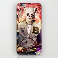hotline miami iPhone & iPod Skins featuring Night Out: Hotline Miami by GiancarloVargas