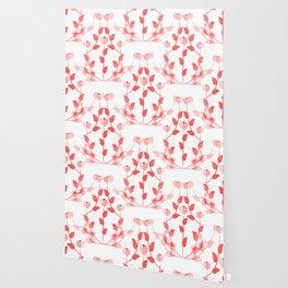 Pink floral fantasy Wallpaper