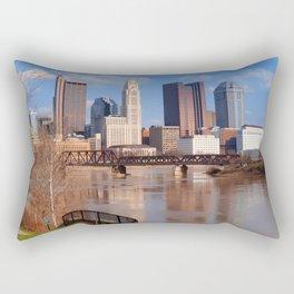 Columbus Ohio 5 Rectangular Pillow