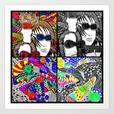 Pop Punk Art Print