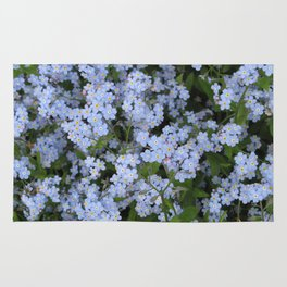 Forget Me Nots Rug