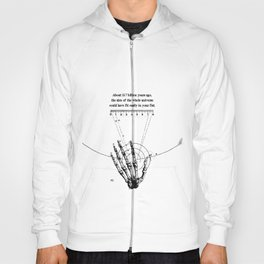 A Universe in a fist. Hoody