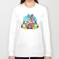 borderlands Long Sleeve T-shirts featuring caravan fam by hydrae
