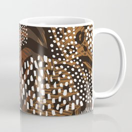 African Animal Print Safari Pattern  Coffee Mug