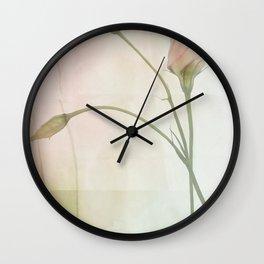 Pax de deux Wall Clock