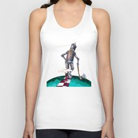kansas Tank Tops featuring We're not in Kansas anymore by Timone