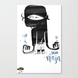 Hua Ninja Canvas Print
