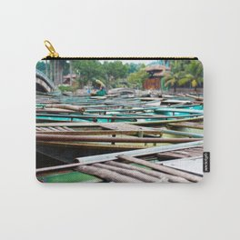 Boats in Ninh Binh, Vietnam Carry-All Pouch