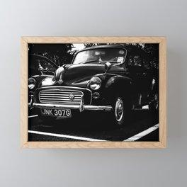 Old Moggie Framed Mini Art Print