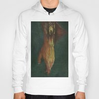 frankenstein Hoodies featuring Frankenstein by Marilyn Foehrenbach Illustration