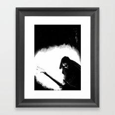 Shoegaze Framed Art Print