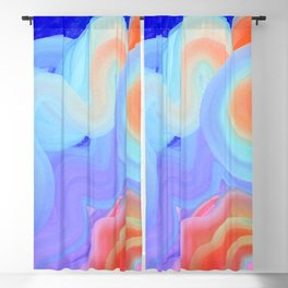 Curves and Colors  Blackout Curtain