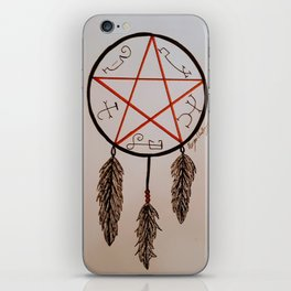 Devil's Trap Dreamcatcher iPhone Skin