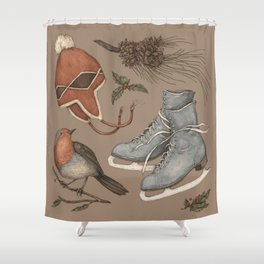 Winter Collection Shower Curtain