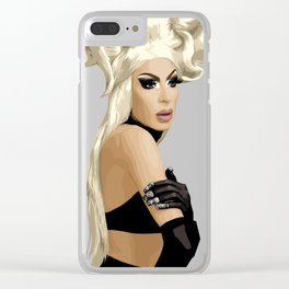 Alaska Thvnderfvck 5000, RuPaul's Drag Race Queen Clear iPhone Case