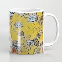 Asian Floral Coffee Mug