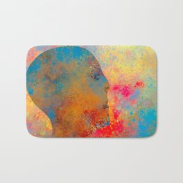 Drifting Into The Colors Bath Mat
