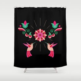 Birds Are Cool Shower Curtain