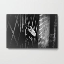 Locked Away Metal Print