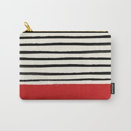 Red Chili x Stripes Carry-All Pouch